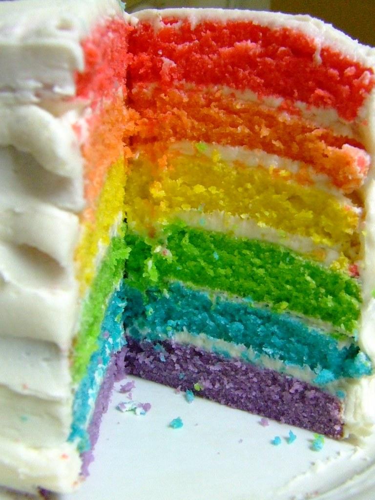 Afbeeldingsresultaat voor rainbow cake