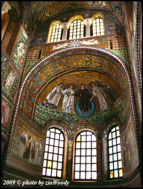 Catino absidale - Basilica di San Vitale (RA)   zioWoody ...