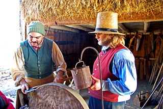 Old Sturbridge Village Freeman Farm Axe Sharpening | by foroyar22