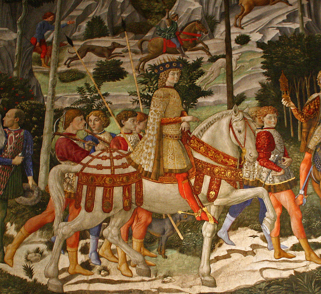 Procession Of The Magi Benozzo Gozzoli Fresco Chapel