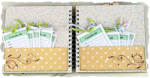 """Baby's First"" 20 Page Chipboard Album 