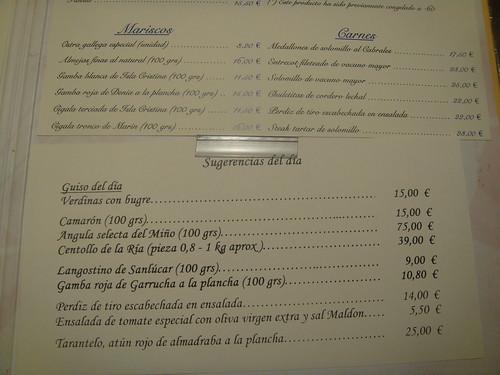 Restaurante puerta 57 madrid carta de platos pablo for Puerta 57 restaurante madrid