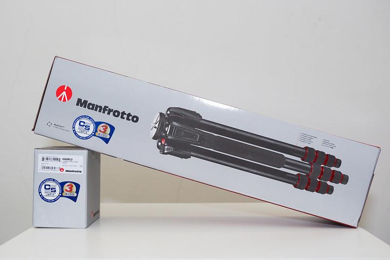 Manfrotto 190go!|MT190GOA4TB + 496RC2
