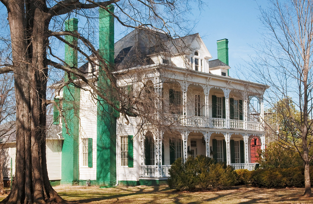 Mcneely strachan house hall house c 1820 226 south j for New house hall