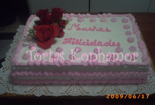 Torta Cumpleaños Dama Chantilly | Comunicate conmigo Sra ...
