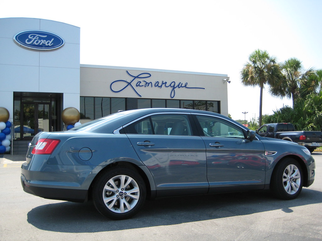 2010 Taurus In New Orleans The 2010 Taurus Parked At