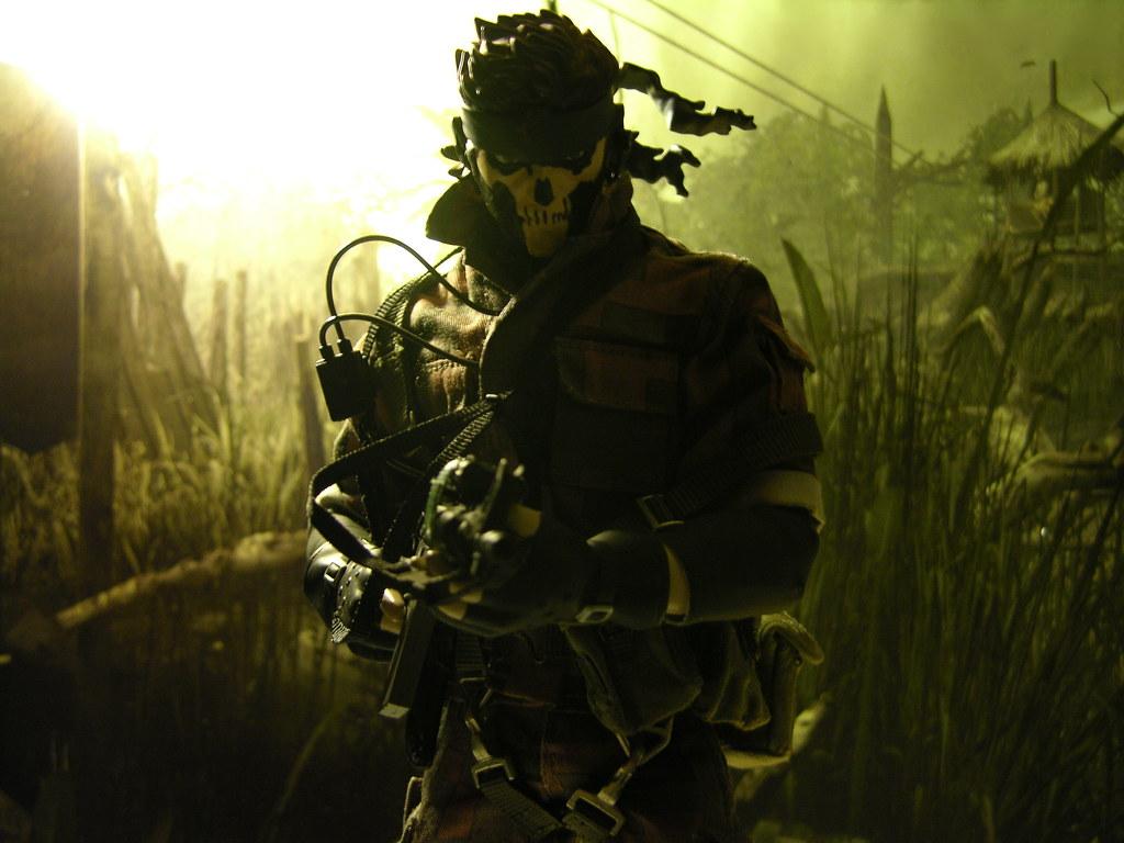 Metal Gear Zombie Face Paint