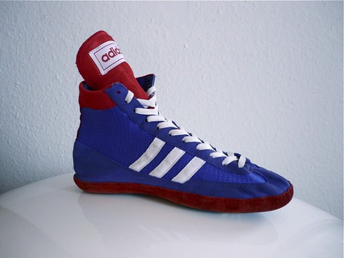 Vintage Adidas Combat Speed Wrestling Shoes  - Very Hard -6955