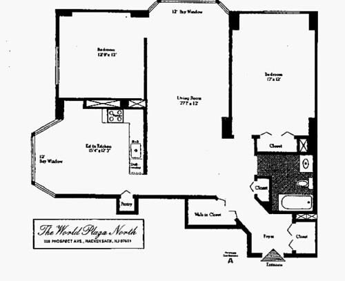 326 pha floor plan building overview world plaza - Bus from port authority to jersey gardens ...