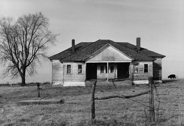 Old Abandoned Farmhouse Southwest Missouri March 1983