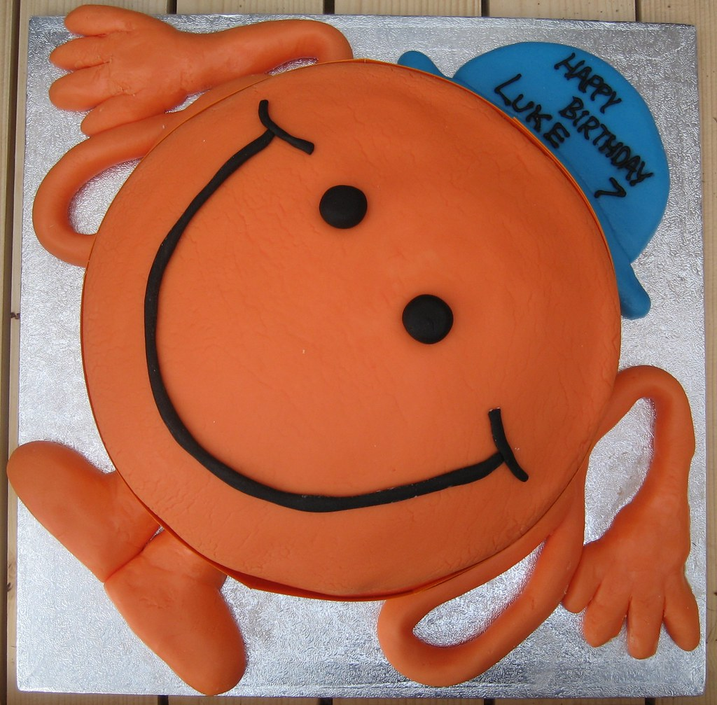 Mr Tickle Cake CageyCrafts Flickr - Mr tickle birthday cake