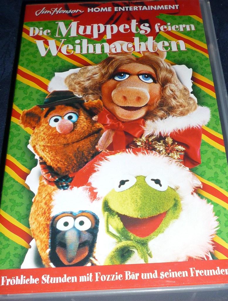 vhs die muppets feiern weihnachten 42 minuten jim. Black Bedroom Furniture Sets. Home Design Ideas