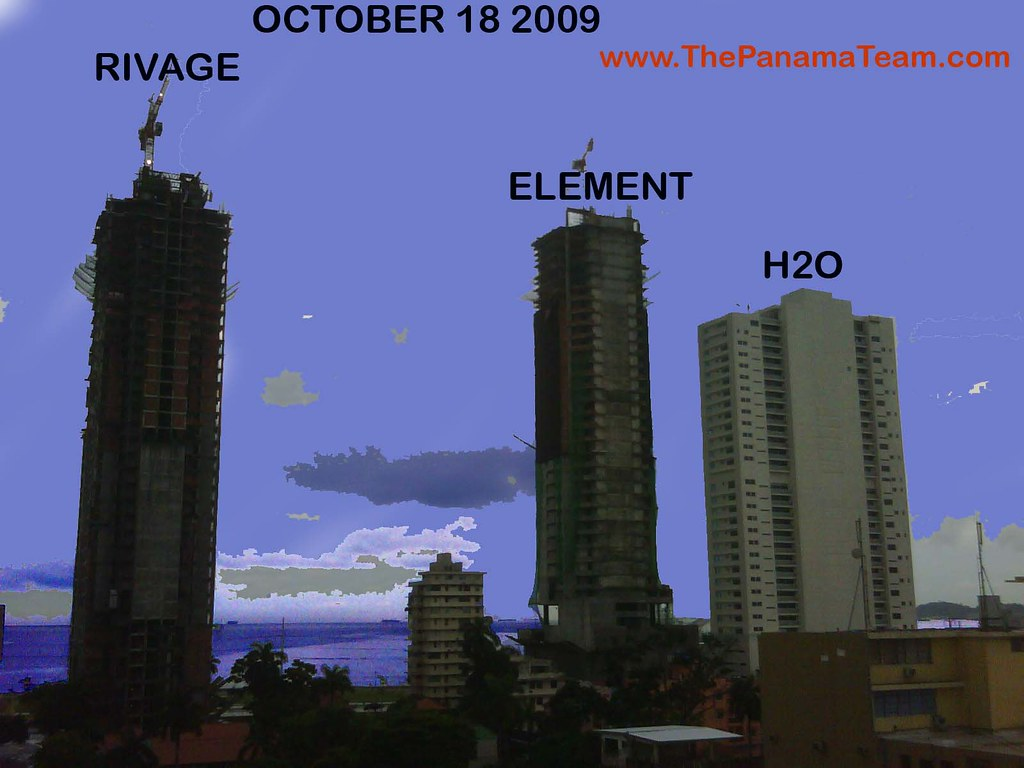 Rivage Element H2o Panama Element Tower Balboa Avenue