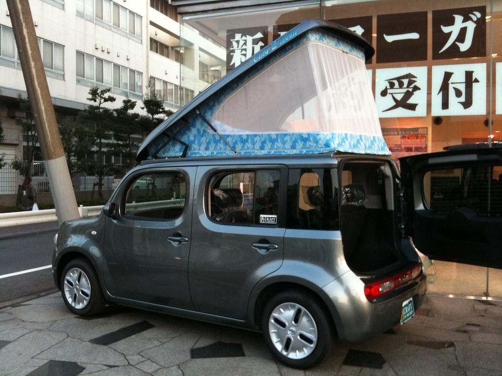 Nissan Cube Camper | kyosyu | Flickr