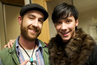 Johnny Weir & kk | by John Biehler