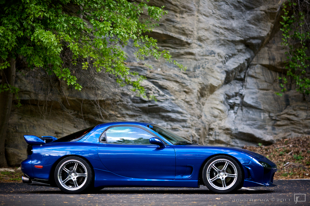 Mazdaspeed RX7 | My FD with temporary wheels.... again. New ...