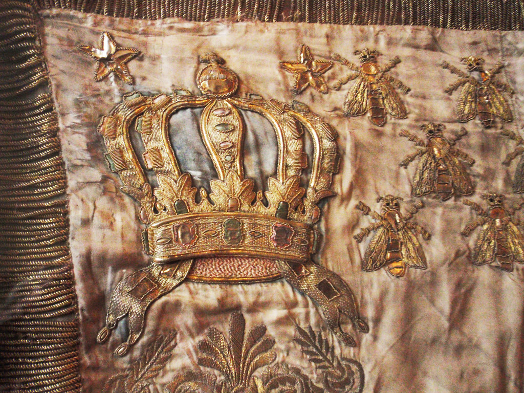 Gold Embroidered Crown And Bees For Napoleon All Right Flickr
