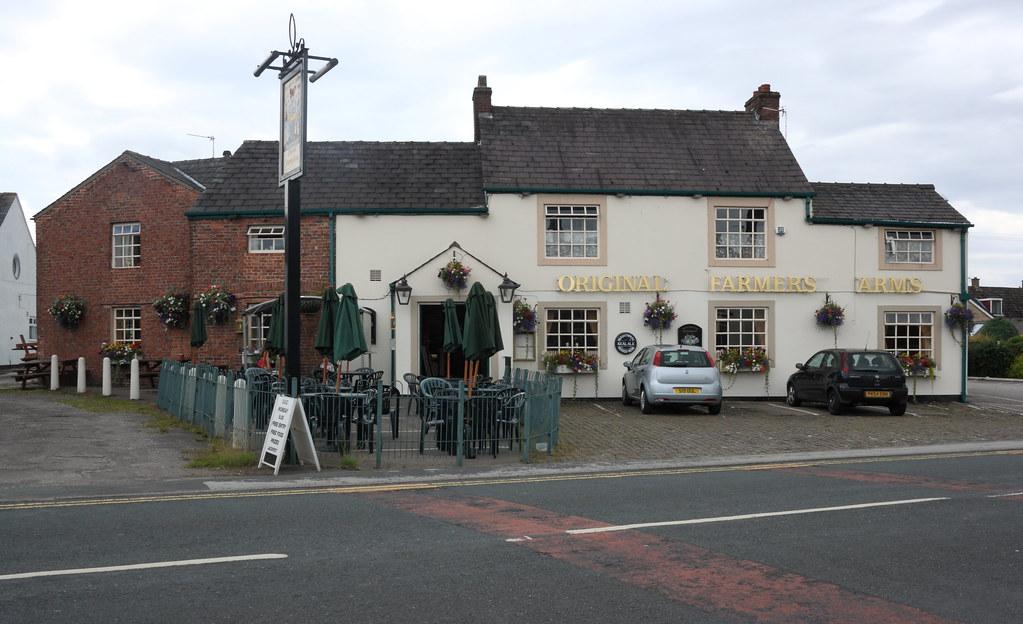 The Original Farmers Arms Inn Tavern Pub Eccleston Vil