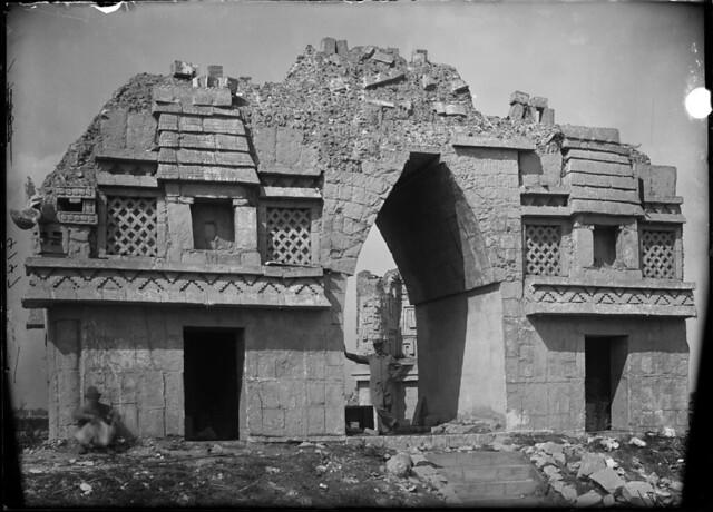 Cast Of Mayan Ruins World S Columbian Exposition Exhibit