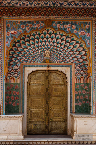 Peacock Door, City Palace, Jaipur | by :: p r a s h a n t h ::