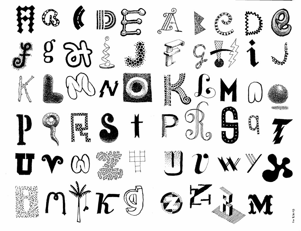 Letters 12 doodle letters in moleskine favorites dont m flickr letters 12 by don moyer thecheapjerseys Gallery