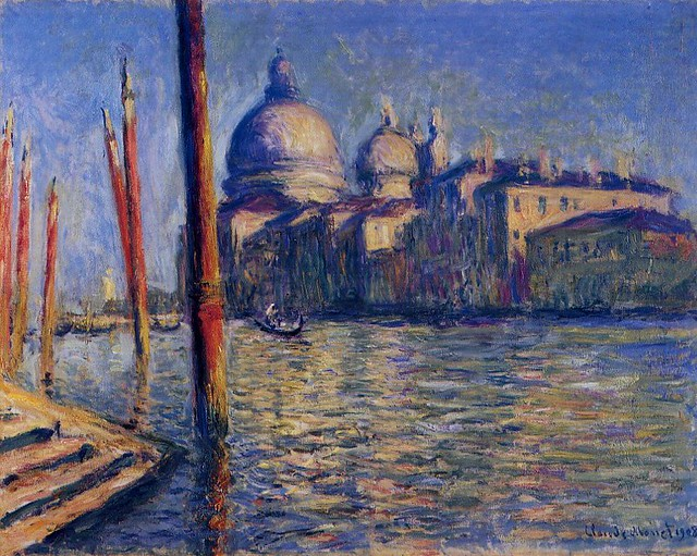 Claude Monet 1908 in Venice - W 1740 - The Grand Canal & S… | Flickr