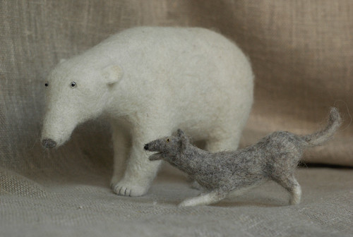 Polar Bear Dog Friends