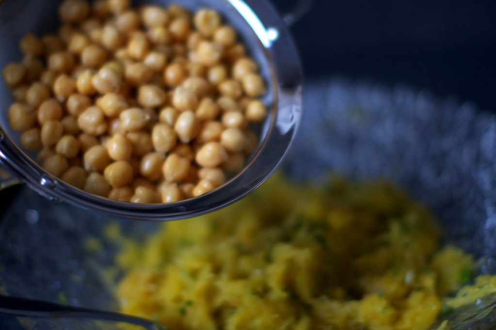 added chickpeas | Moroccan-Spiced Spaghetti Squash on ...
