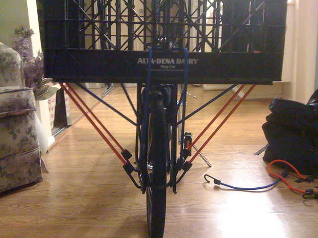Milk Crate Bike Rack 500 x 375