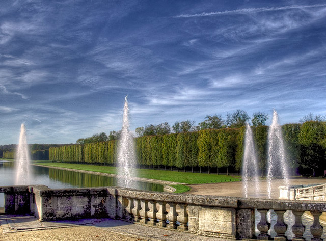 Le domaine de versailles bassin du fer cheval au grand t flickr for Bassin de jardin grand volume