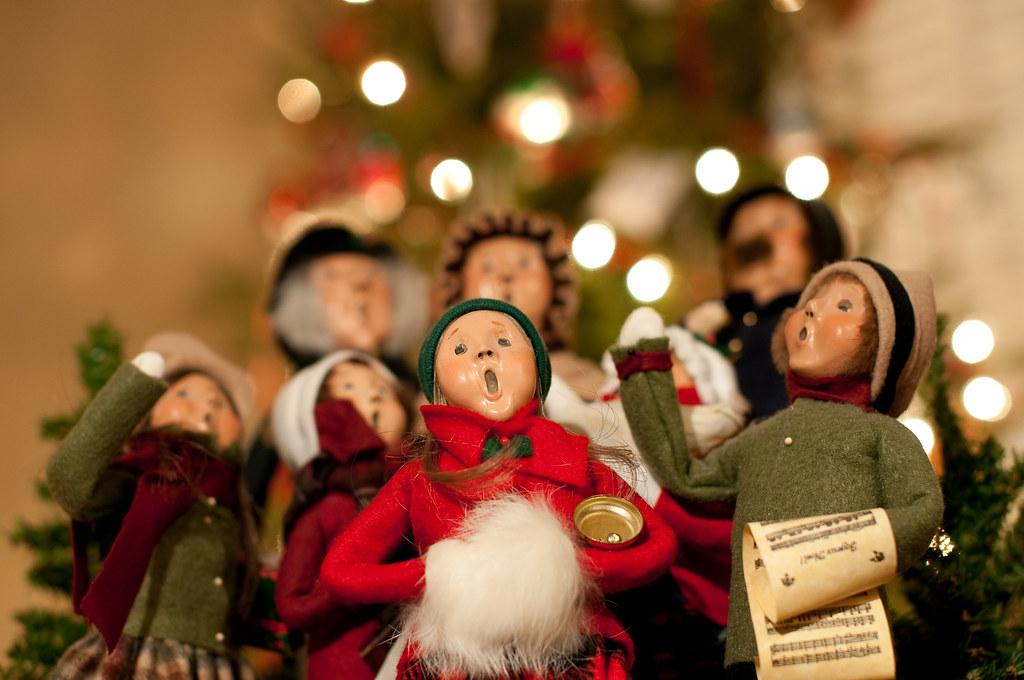 christmas carollers by brian guest giant rebus - Christmas Carollers