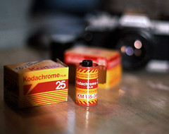 Kodak Kodachrome 25 - Pre-Paid Red Cannister | by Michael Raso - Film Photography Podcast