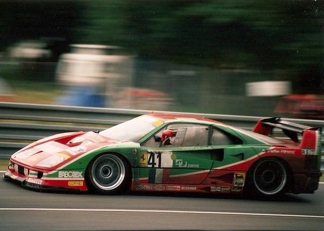Ferrari F40 Gte Le Mans 1995 Going Through Indianapolis Flickr