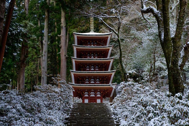 室生寺・五重塔 ( Murouji-Temple )