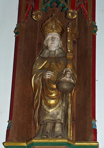 Reredos St Christopher (2)