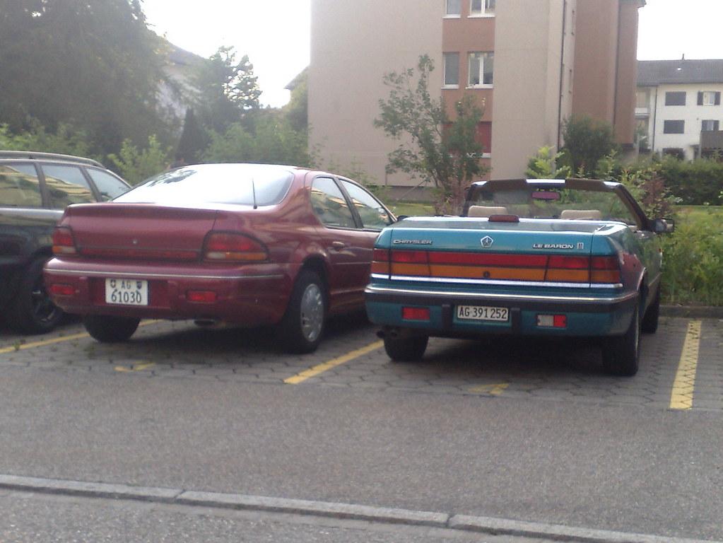 chryslerstratus lebaron 1996 1995 chrysler cars flickr