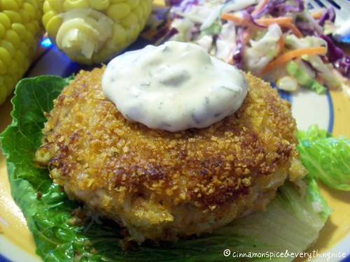 East Coast Crab Cakes | by CinnamonKitchn