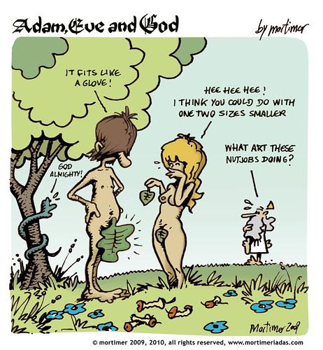 Adam and eve in garden of eden studying genesis chapter 2 8