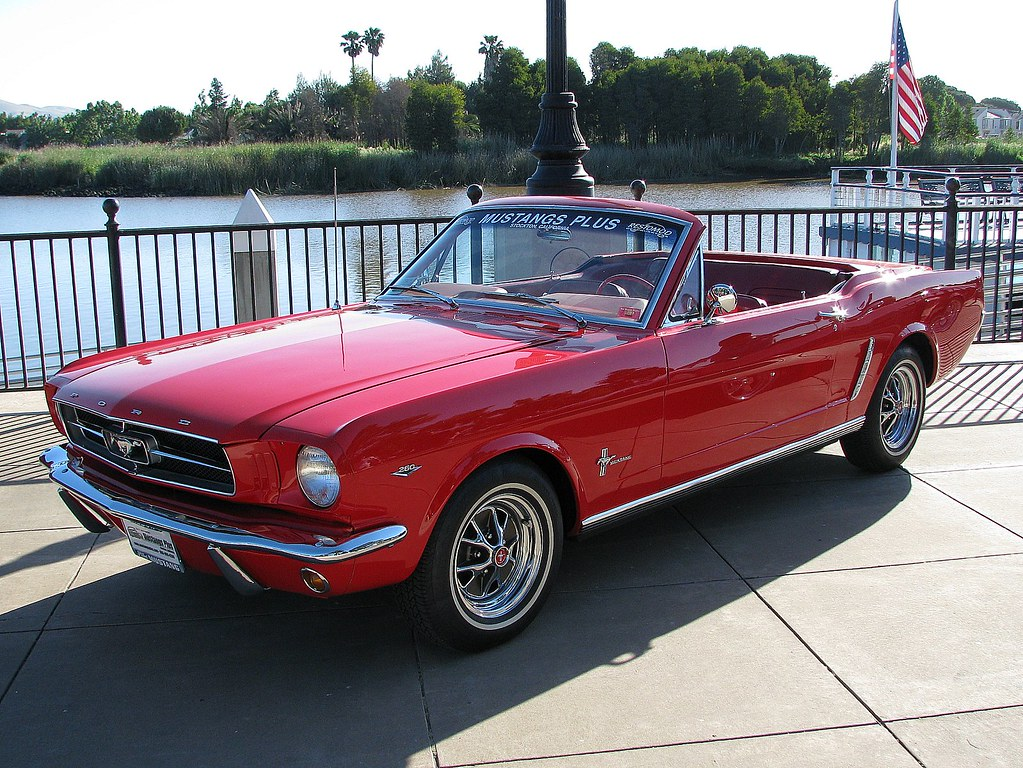 1964½ ford mustang plus retractable top 170 zvy 1 by jack snell