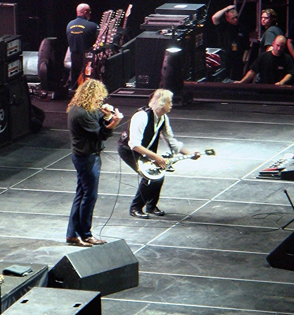 Led Zeppelin @ the O2 | Led Zeppelin 10-Dec-2007 O2 Arena ...