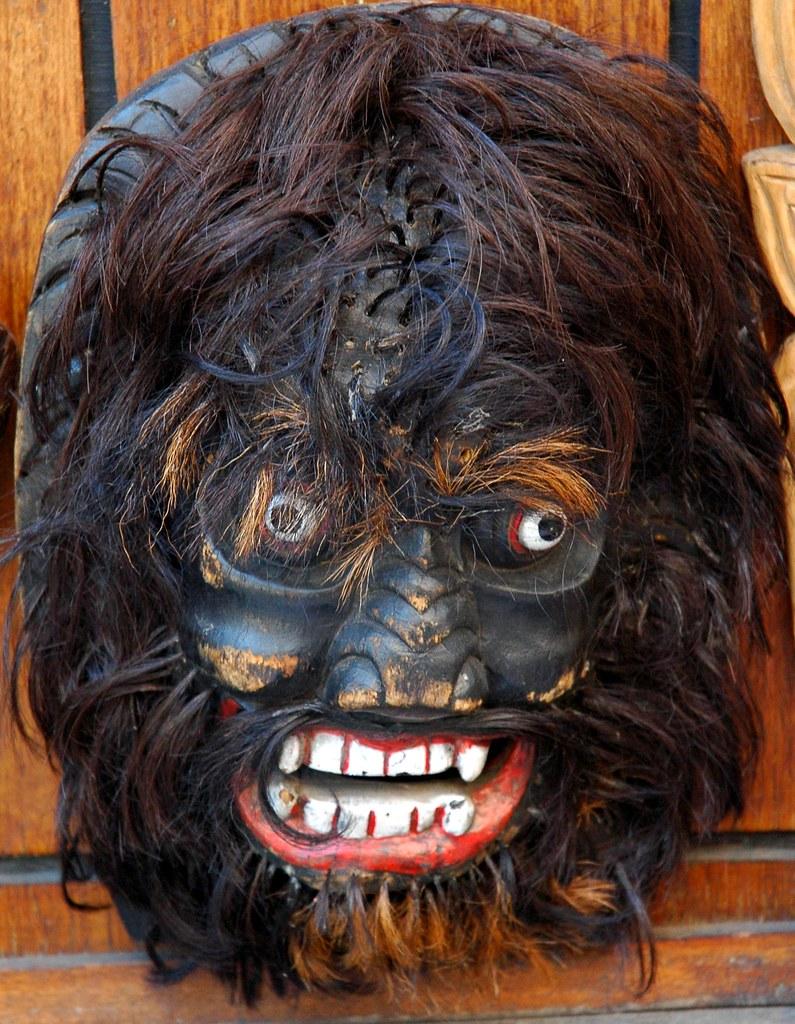 Migoi  Yeti Mask  The Abominable Snowman  Street Bazaar  K U2026
