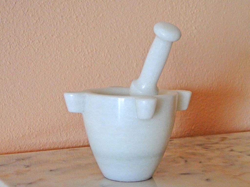 Mortero de m rmol miradas de andaluc a flickr for Mortero de marmol