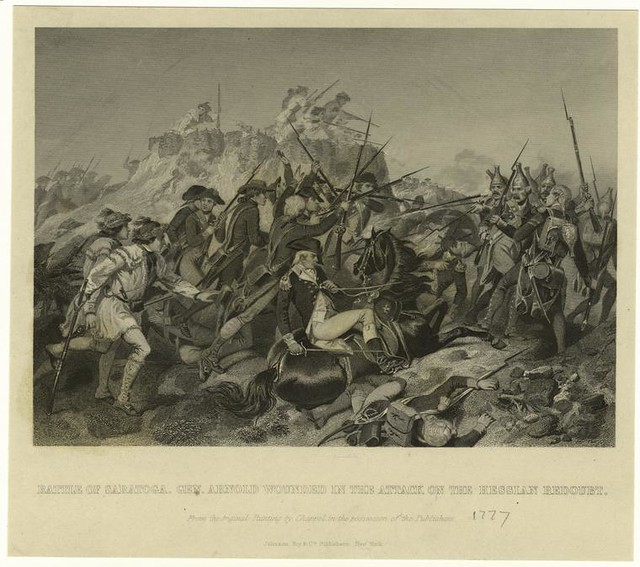 essay on the battle of saratoga