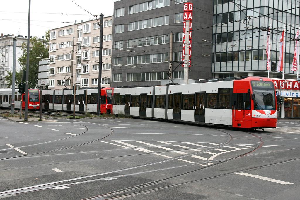kvb 4553 k ln cologne tram 27 10 09 barbarossaplatz flickr. Black Bedroom Furniture Sets. Home Design Ideas