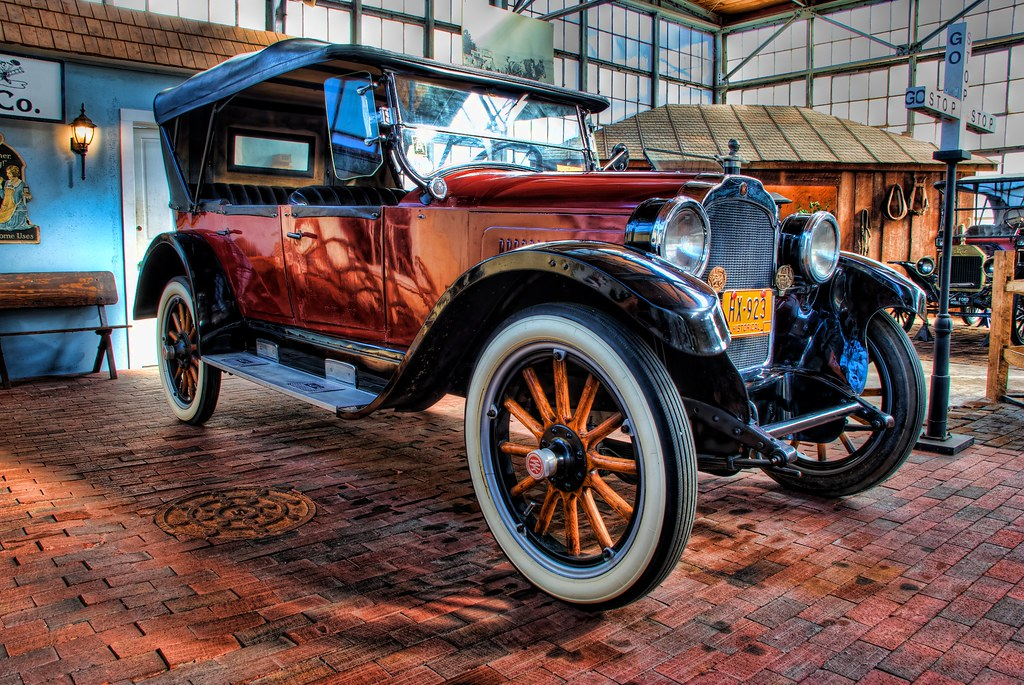 1923 Willys Knight Model 67 Touring Car This 7 Passenger