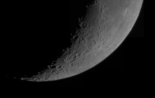 20091121 Southern Limb of the Cresent Moon | by JMelquist
