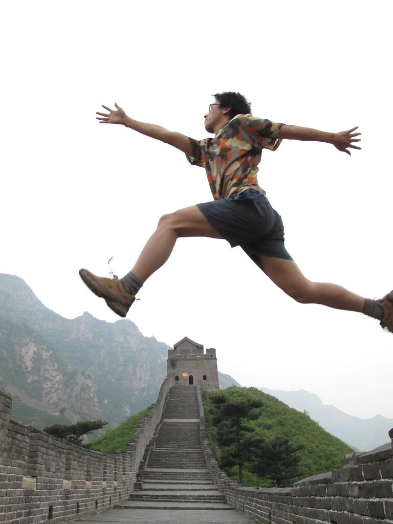 跨越长城 走向世界 Across The Great Wall We Can Reach Every Corner
