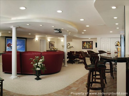 Recessed Lighting For Finished Basement : Aadesignbuild a design build remodeling finish