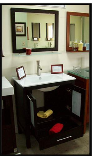 Asti 30 espresso ceramic bathroom vanity set priele italia flickr for Priele italian design bathrooms