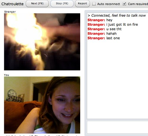 white girl chatroulette